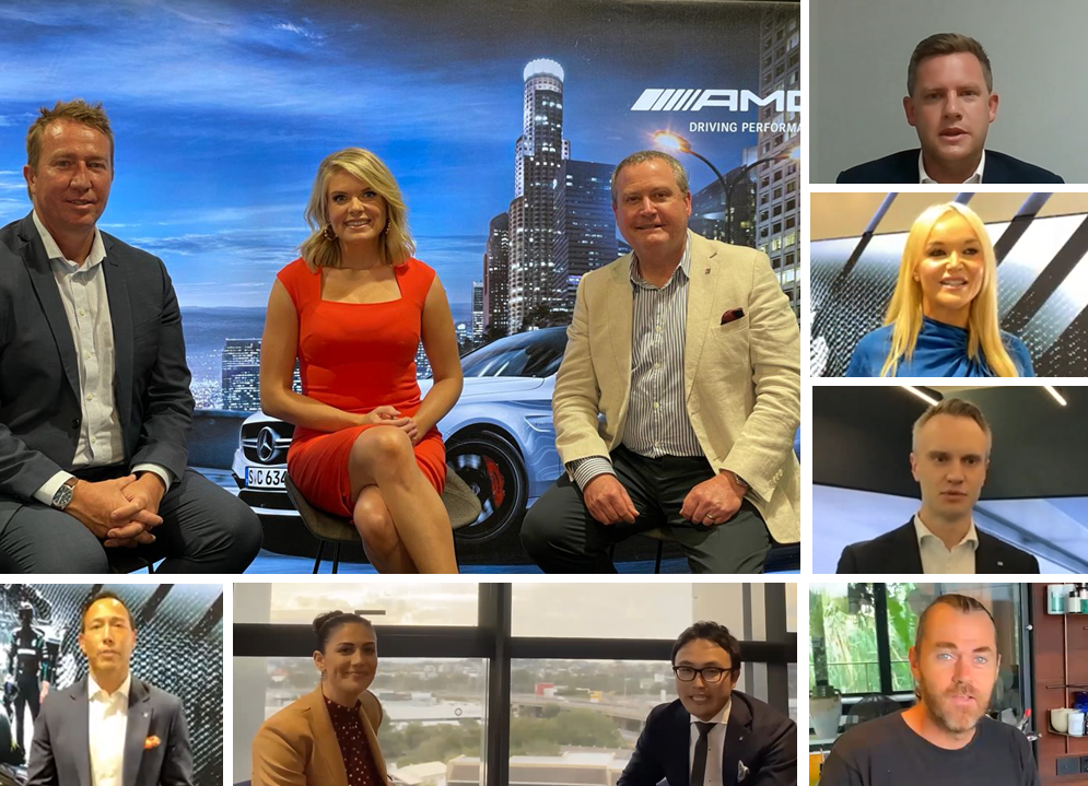 LSH Auto Australia's live stream Town Hall – with very special guests